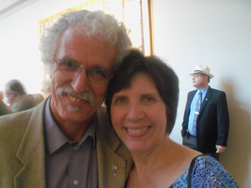 Cajun filmmaker Glen Pitre and his wife, Michelle