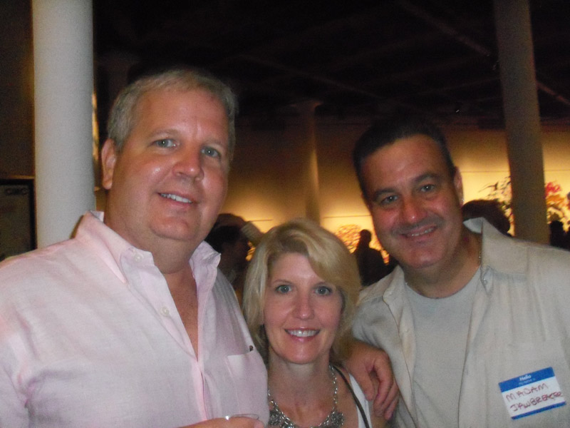 Paul and Ann Tuennerman Mr. and Mrs. Greg Dileo with Eric Asher