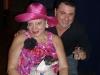 Margarita Bergen with Chiquita and Tony Leggio