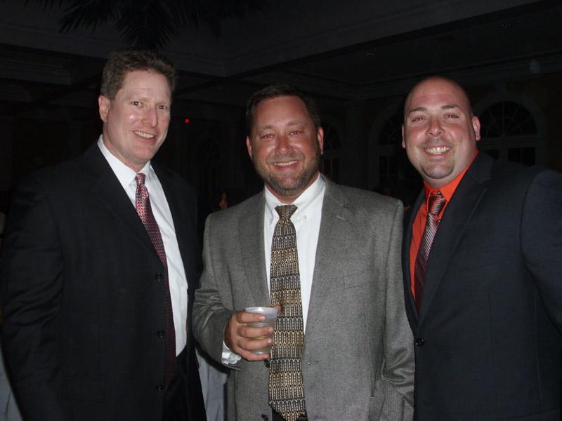 Doug Schmidt, Rick Harvey and Jamie Brown