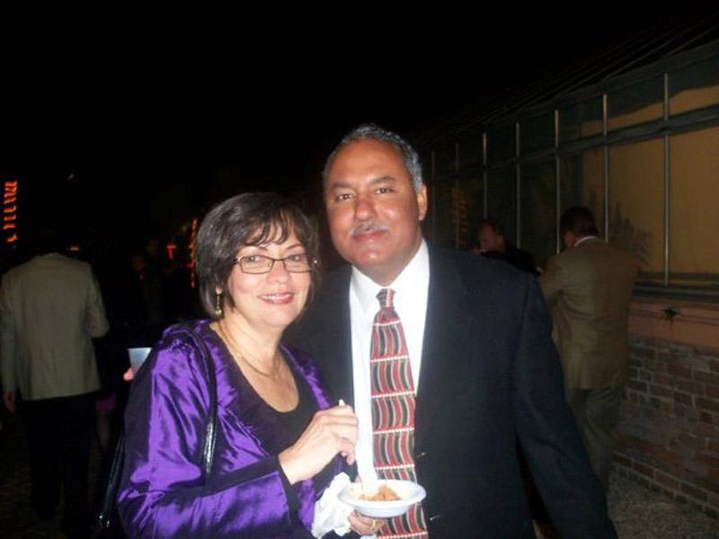Mrs and Mr Marlin Gusman