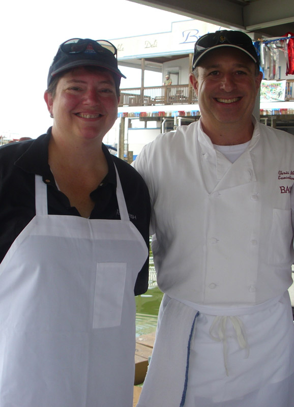 Chefs Haley Bitterman and Chris Montero of Ralph Brennan Restaurant Group