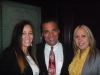 Soraya Acosta, Michael Vargas and Yadira Hernandez