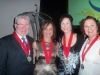 Honoree Drs. Milton Seiler and Susan Jeanfreau with Vanessa Batson and Debbie Smith