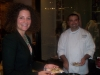 Sara Kavanaugh and Chef Drew Dzejak of The Grill Room