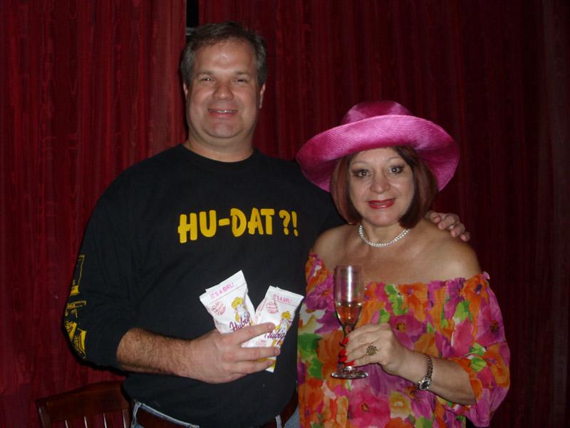 Drew Ramsey and Margarita Bergen