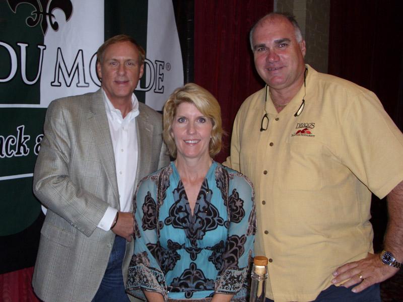 Eric Paulsen, Ann Teunnerman and Tommy Cvitanovich