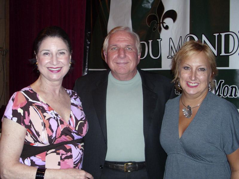 Nell Nolan, Frank Stansbury and Jeanne Vidrine