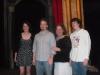 Celeste Cahn, Brendan Bowen, Clare Moncrief and Patrick Bowen