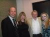 Jim Fitzmorris with Susan, Ron and Tori Gural