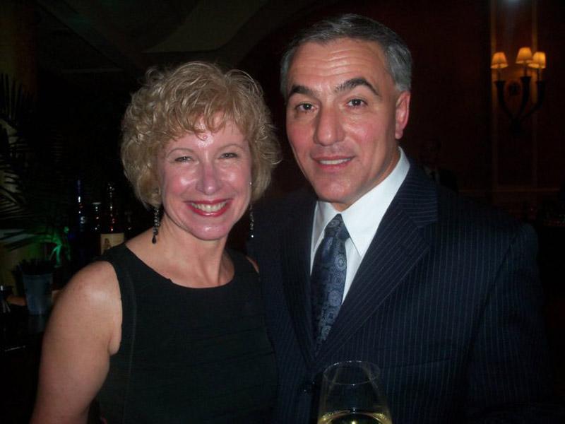 Beth Sacco and Teddy Graziano