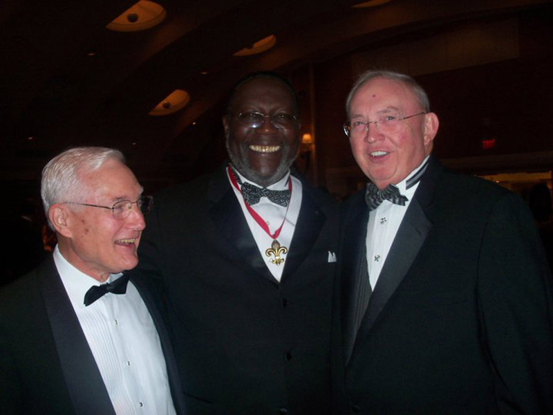 Harry Coaxum, Bobby Brannon and Bill Olivier