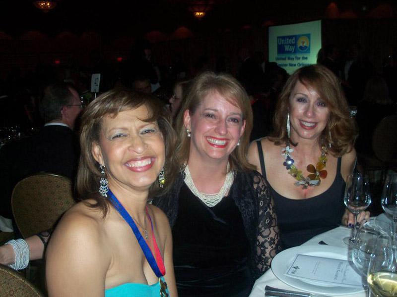 Karen Coaxum, Sandie McNamara and Pamela Senatore