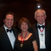 Bubba Moffet with Jane and Bill Goldring