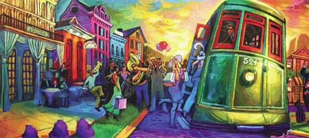Paintings Symbolize A Rebirth Of The Old New Orleans