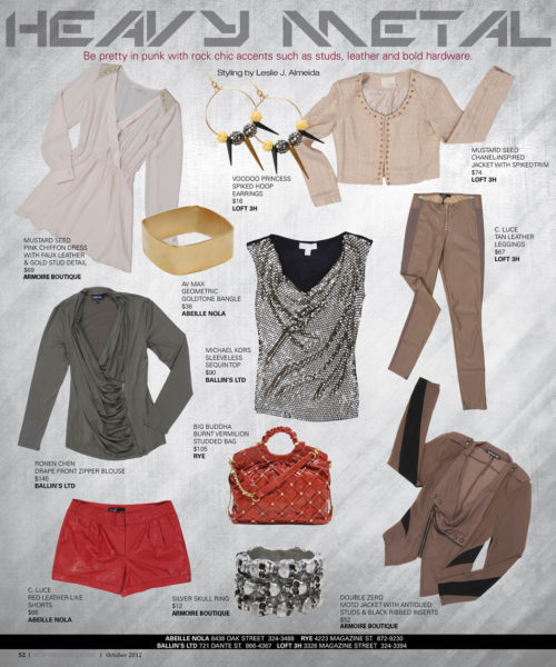 New Orleans Living Magazine | Fashion | Leslie J. Almeida