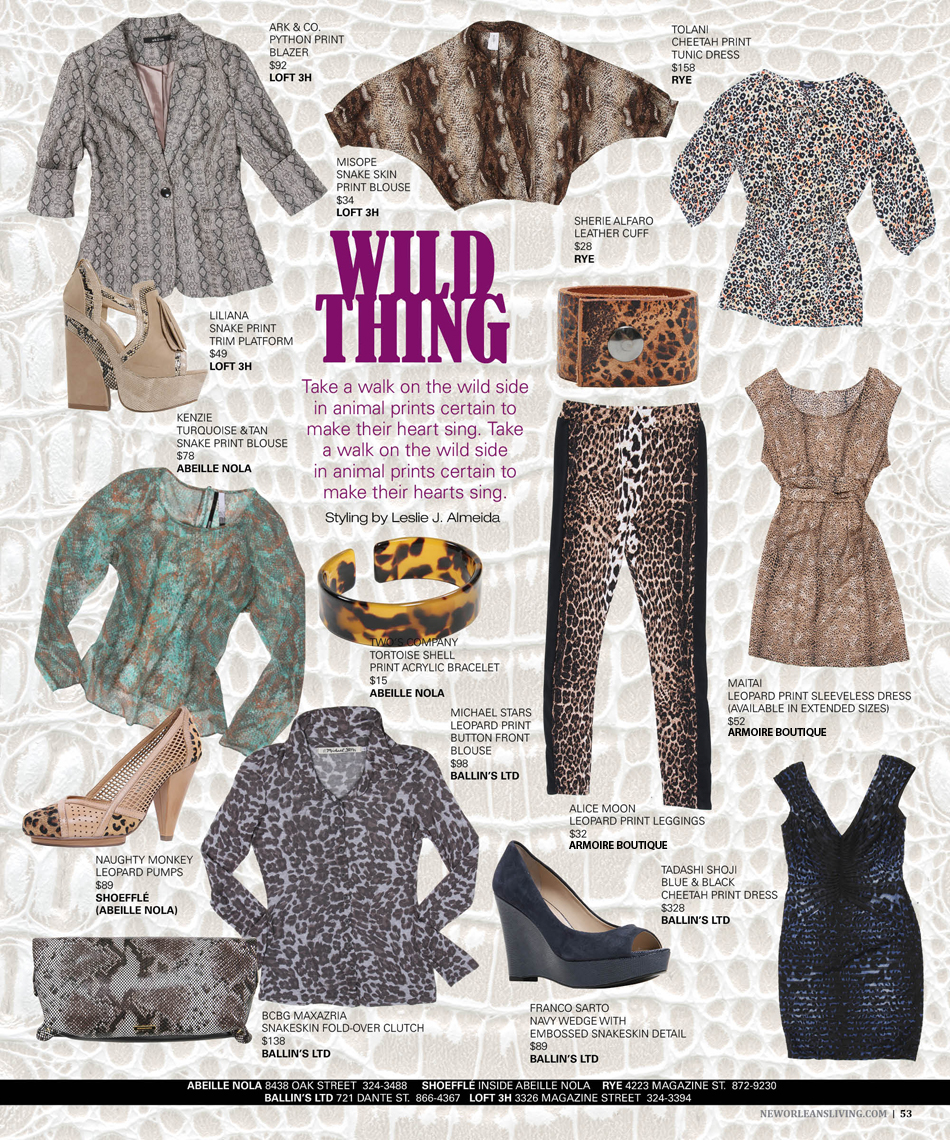 New Orleans Living | Fashion | Leslie J. Almeida